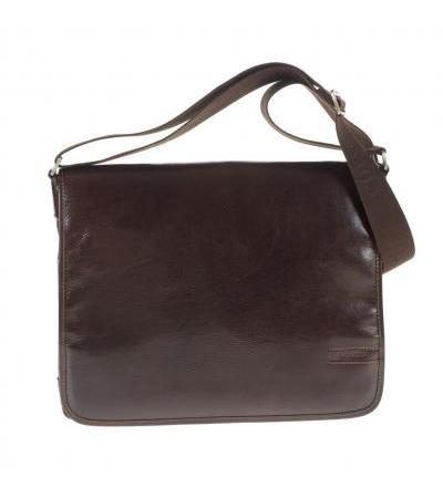 BORSA MESSENGER IN PELLE 4561 BRW