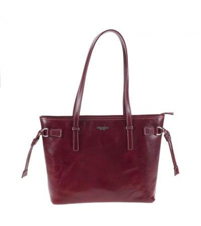BORSA SHOPPING SOTTOBRACCIO IN PELLE 3477 RED