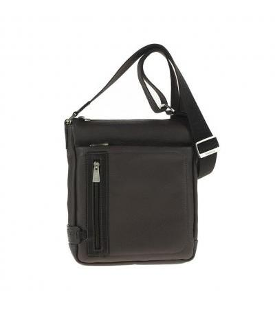 Borsa Tracolla Uomo In Pelle 72629 dark brown