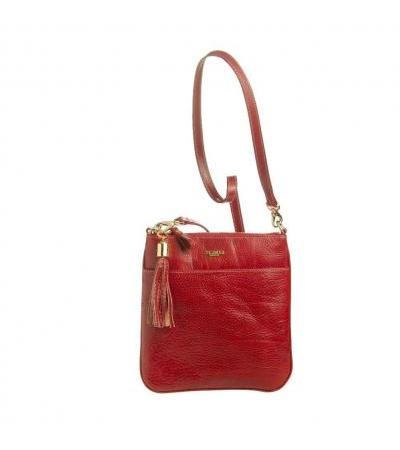 BORSETTO TRACOLLA IN PELLE 93528 RED