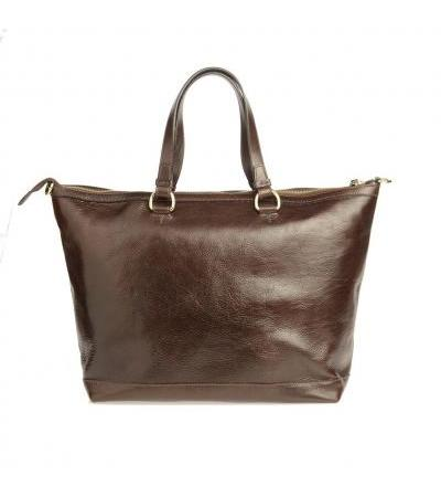 HANDBAG 93529 DARK BRW